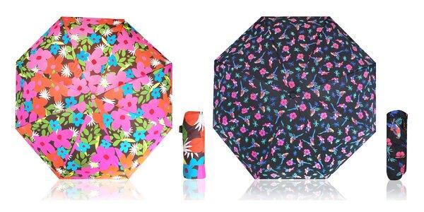 Originálne veselé dámske dáždniky RealSTar v mnohých štýloch