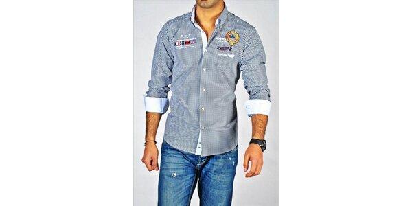 Pánska kockovaná košeľa Pontto