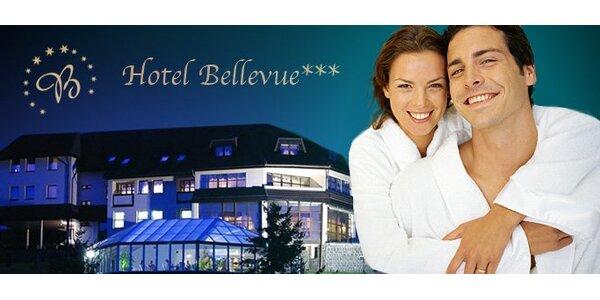 99 eur za 3-dňový pobyt pre DVOCH v hoteli Bellevue***