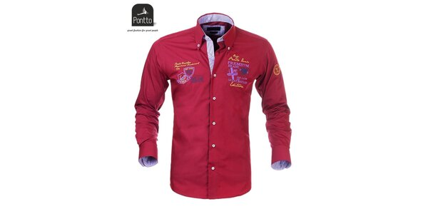 Mestská pánska košeľa Pontto