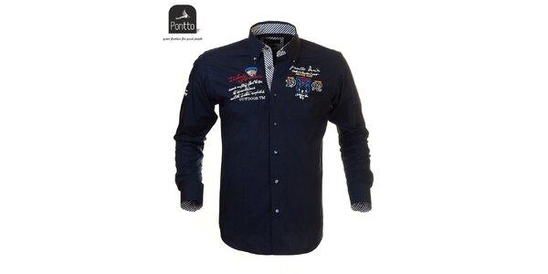Moderná košeľa z dielne Pontto