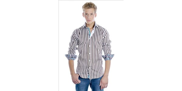 Elegantná pánska košeľa Pontto