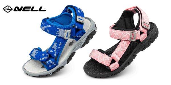 Na výlet i do školy: detské sandále značky Nell