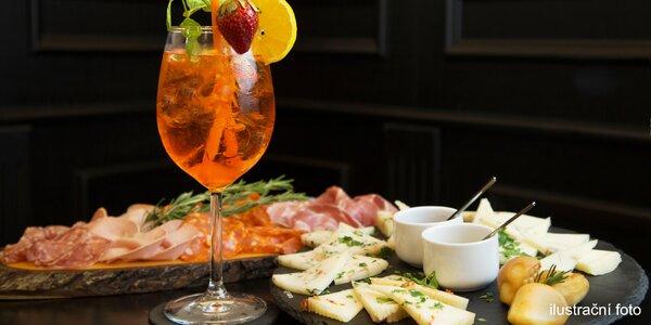 Tanier dobrôt a Aperol, Prosecco alebo víno