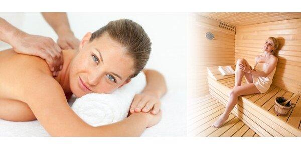 7,50 eur za príjemný relax v parnej saune a k tomu celotelovú masáž…