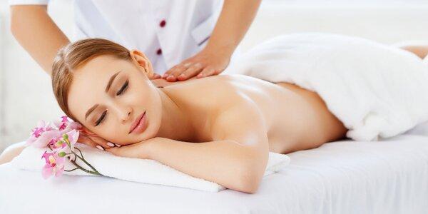 Klasická masáž chrbta a krku alebo celého tela