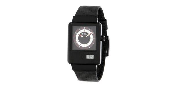 Pánske čierne hodinky DKNY