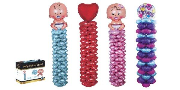Dekoračné balónové stĺpiky na špeciálnu príležitosť