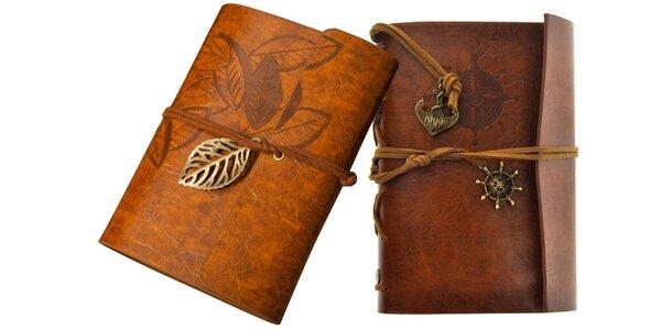 Krásne cestovateľské zápisníky - na výber z dvoch dizajnov