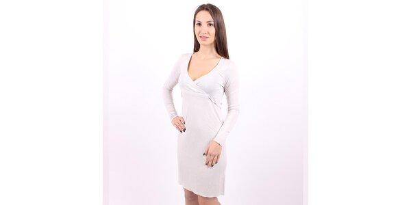 Dámske strieborné šaty Enelle