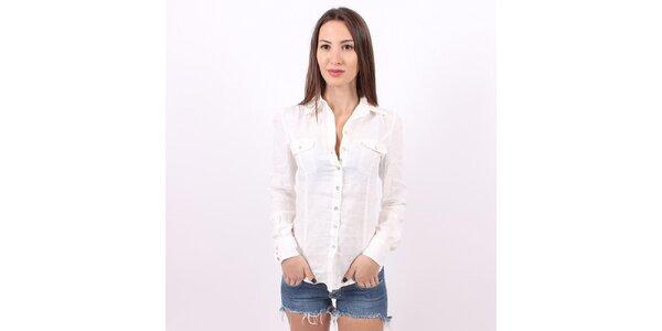 Dámska biela košeľa Enelle