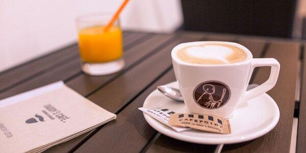 Kvalitná káva a vstup do detského kútika