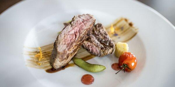 6 druhov steakov v Reštaurácii Sokolovňa