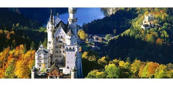 Romantické bavorské zámky za rozprávkových 64 €