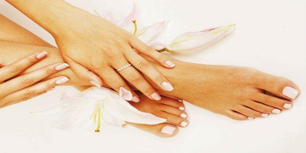 Manikúra, pedikúra a gélové nechty