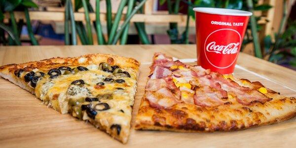 2 kúsky pizze s osviežujúcim nápojom v Don Papa's