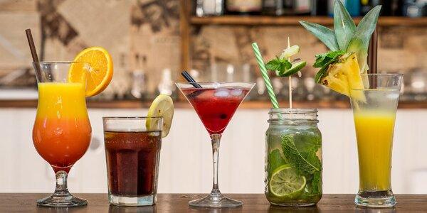 Osviežujúce miešané letné drinky