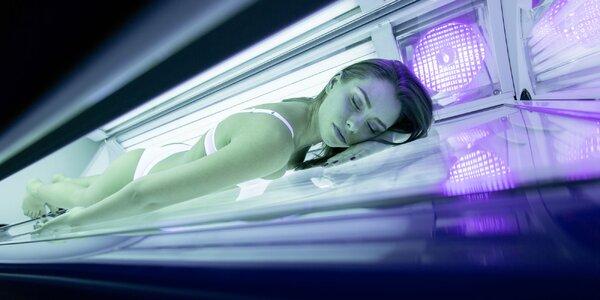Permanentka do solária:zdravé, bez rezervácie