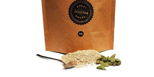 BIO Mletá zelená káva s rôznymi príchuťami
