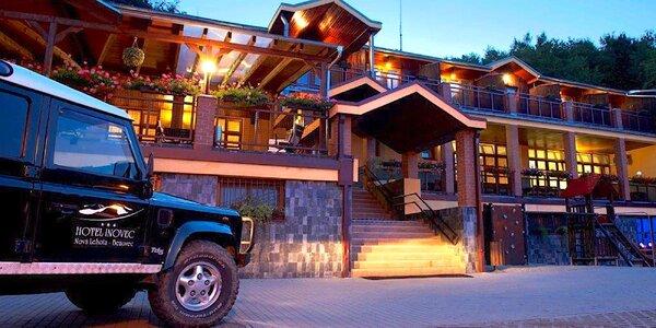 Pobyt v hoteli Inovec*** s polpenziou a vstupom do wellness