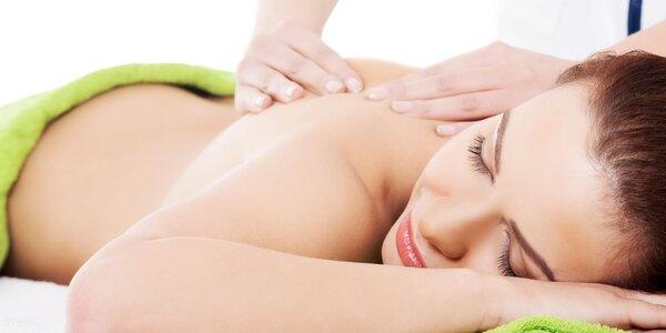 Klasická masáž + masáž podľa výberu pre ženy
