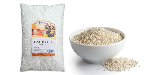 Tapiocové perly: 1 kg zdroja živín do vašej kuchyne