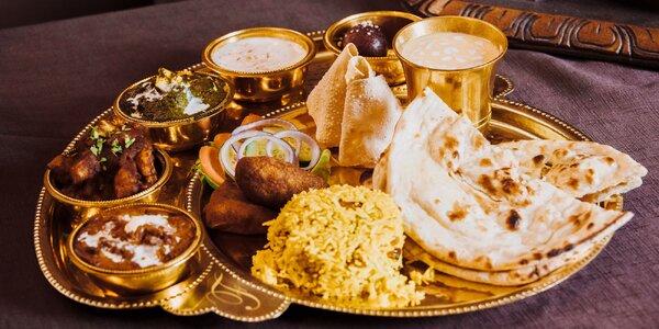 India na tanieri - menu pre dvoch!