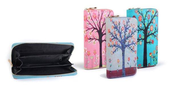 Dámska peňaženka s potlačou