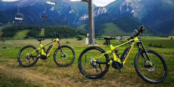 Požičajte si E-bike a objavujte Tatry!