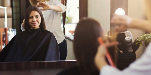 Štýlový dámsky strih a úprava vlasov