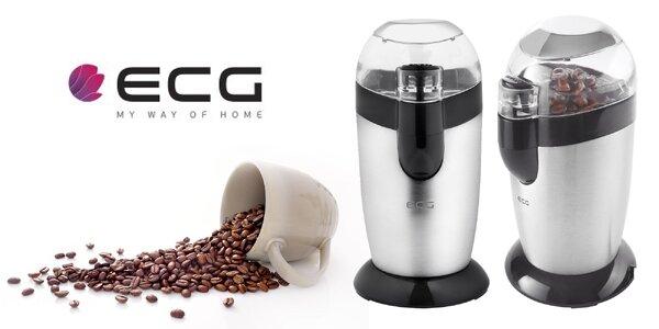 Výkonný mlynček na kávu českej značky ECG
