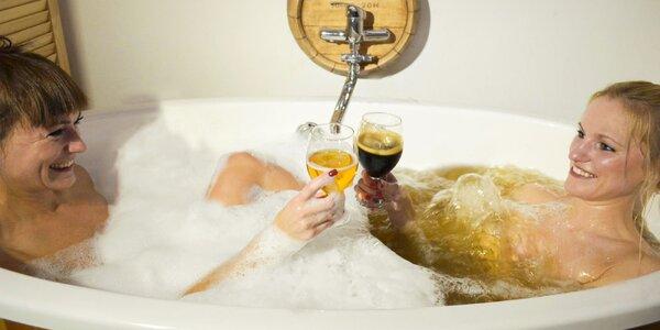 Ponorte sa do pivného alebo relaxačného kúpeľa!