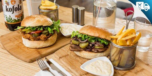Burger po slovensky alebo tradičná cigánska