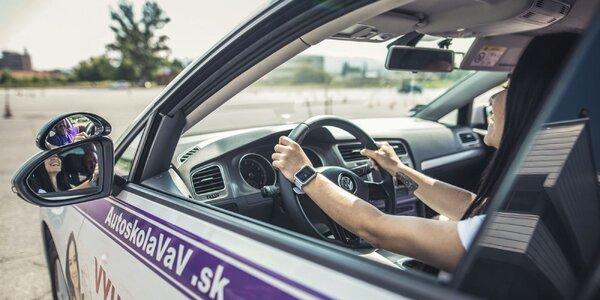 Kondičné jazdy a kurzy parkovania v Autoškole VaV