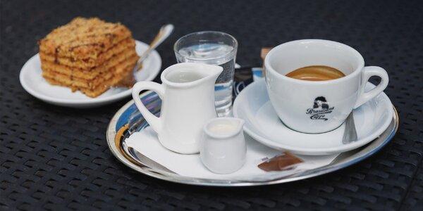 Káva s marlenkou, limonádou alebo nealkom