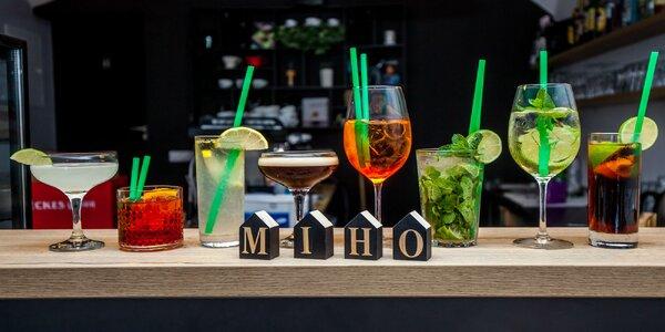 Miešané nápoje v Miho Café v Žiline!