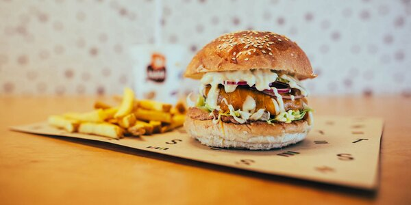Burger menu pre malých aj veľkých gurmánov!