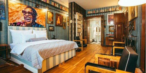Jedinečný zážitkový pobyt v galérii Divná Pani Luxury Rooms*****