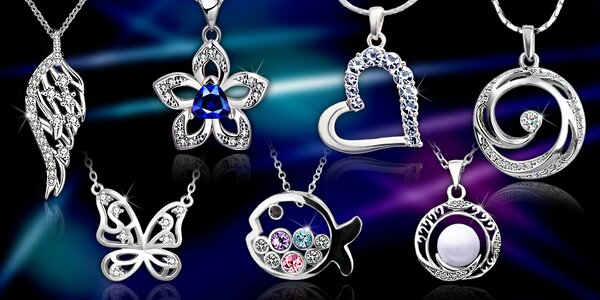 Veľký výber šperkov s kryštálmi Swarovski a zirkónmi - náhrdelníky i náušnice