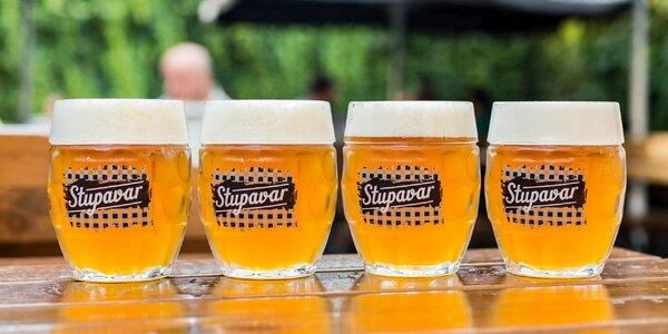 Letné tekuté osvieženie vo forme piva na Dunajskej