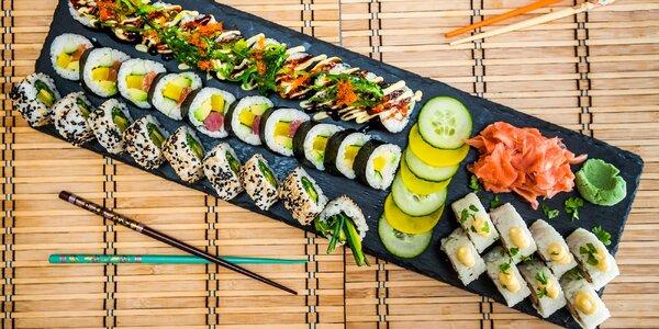 Sushi set 36 ks pre 2 osoby vo Wasabi Sushi Bare