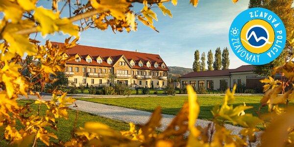 Oddych v oáze Hotela Malvázia**** s wellness, parkom a jazerom
