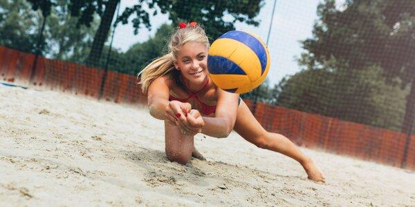 Zahrajte si plážový volejbal v eXtreme parku!