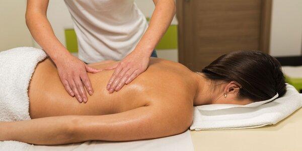 Masáž podľa vášho výberu alebo celotelový peeling