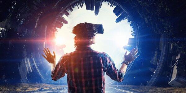 Jedinečná ESCAPE ROOM vo virtuálnej realite pre 2 alebo 4 osoby