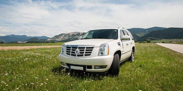 Prenájom luxusného Cadillacu aj so šoférom. Svadba, ktorá má štýl!