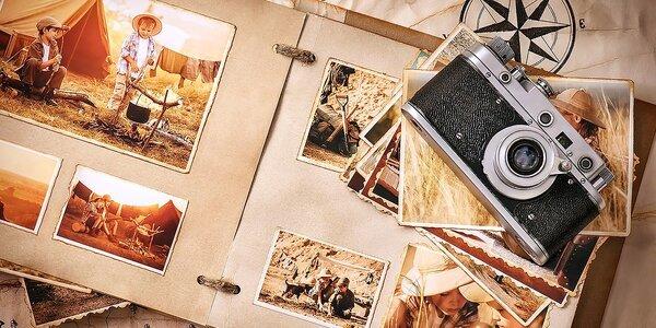 Vyvolanie 100 fotiek na fotopapier FUJIFILM