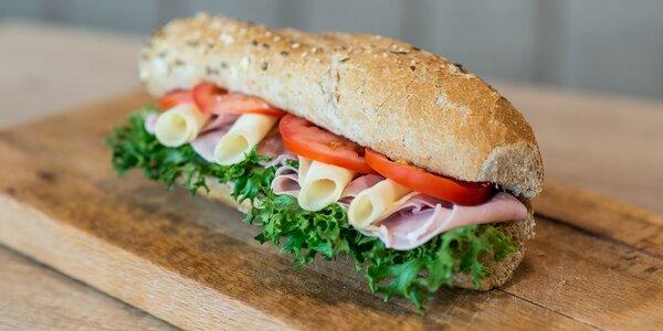 Vyskladaj si vlastný sendvič v Bagetérii v OC Epéria
