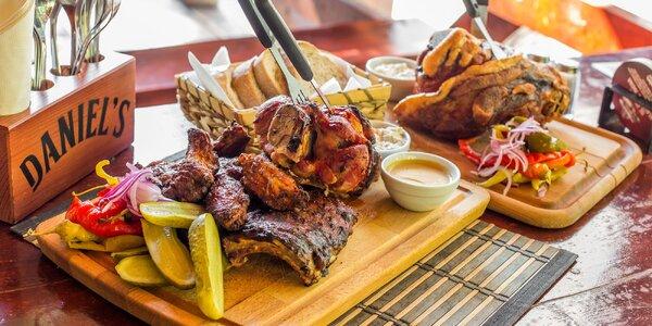 Pečené mäsové špeciality v Daniel´s pub