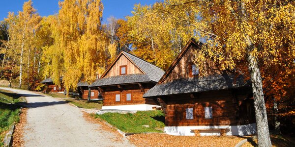 Pobyt s wellnessom v rozprávkových Chalúpkach Predná Hora